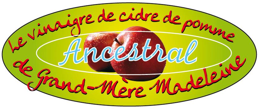 vinaigre de cidre de pomme de grand-mère madeleine